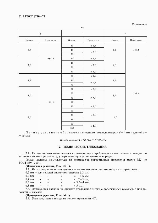ГОСТ 6750-75. Страница 3