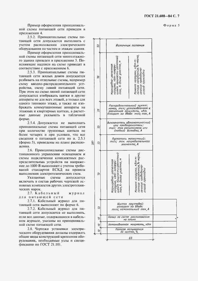 ГОСТ 21.608-84. Страница 8