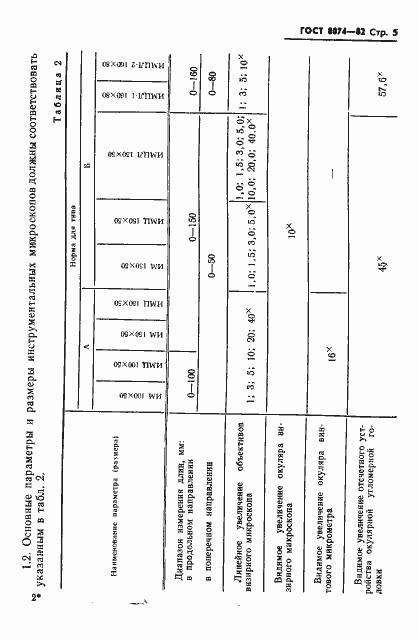 ГОСТ 8074-82. Страница 6