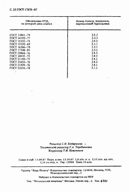 ГОСТ 17675-87. Страница 33