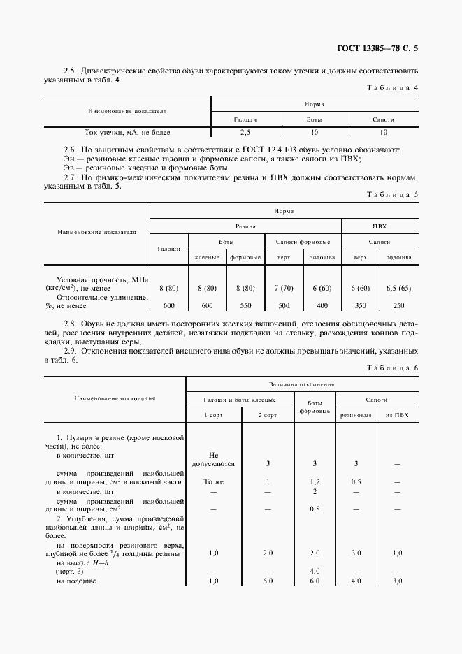ГОСТ 13385-78. Страница 6