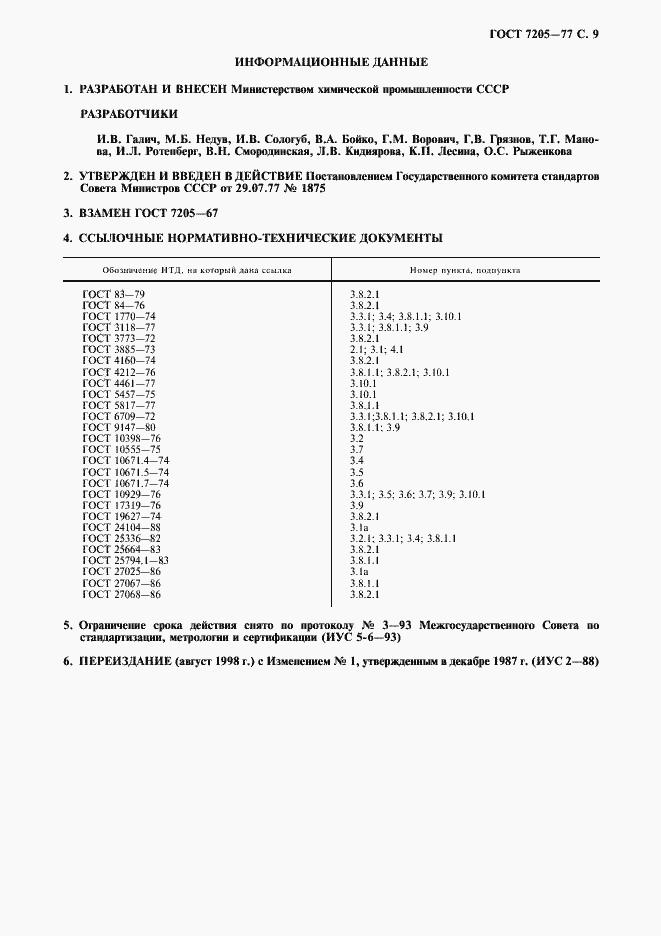 ГОСТ 7205-77. Страница 10