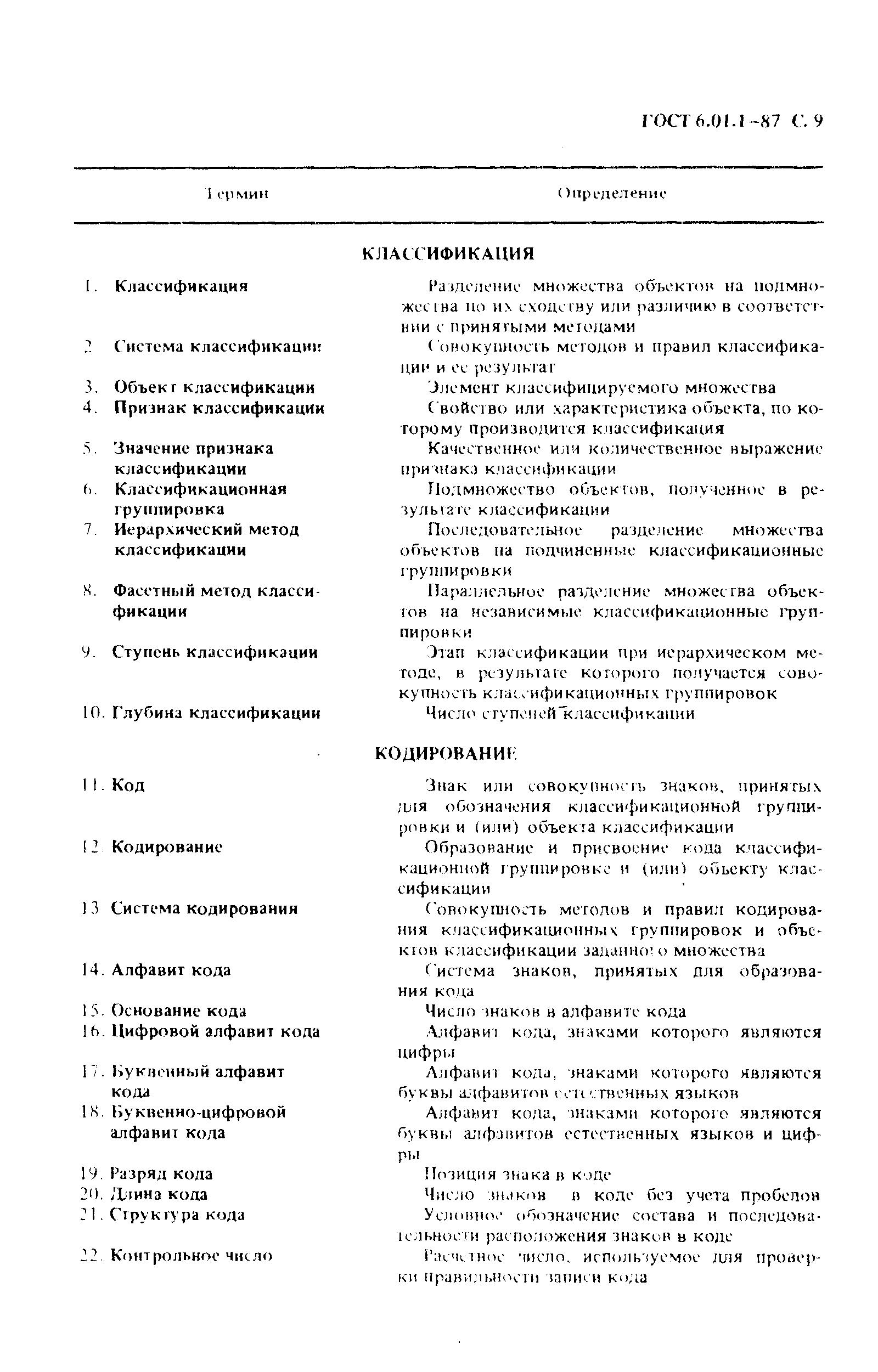 ГОСТ 6.01.1-87. Страница 10
