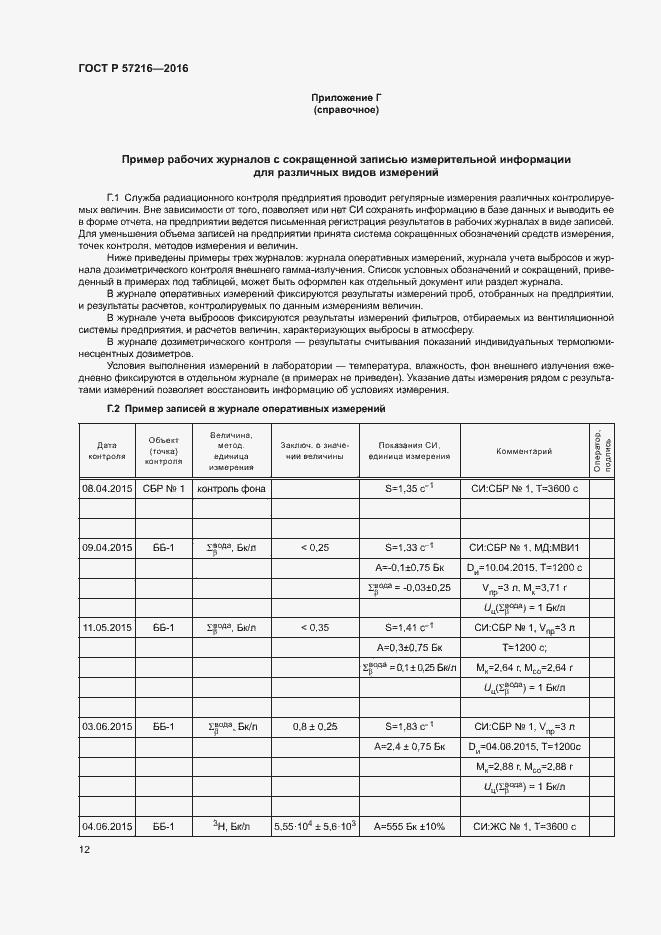 ГОСТ Р 57216-2016. Страница 16