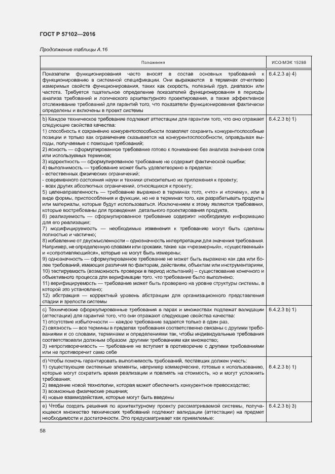 ГОСТ Р 57102-2016. Страница 62